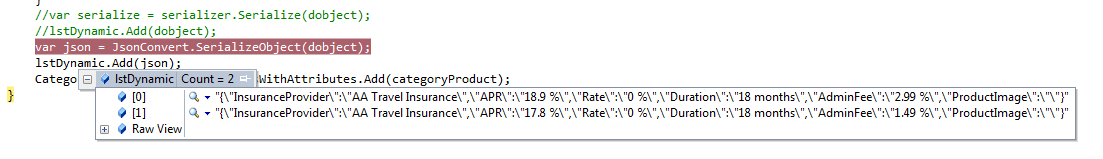 AngularJs Serialized Json data not displaying in table