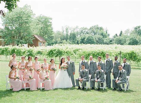 Gervasi Vineyard Wedding and First Look   Lauren & Ben