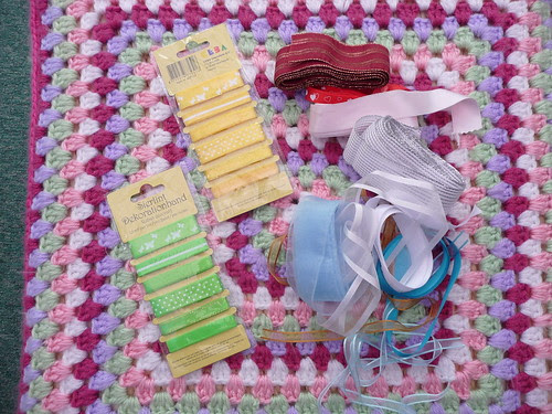Thank you for the donation of ribbons too!