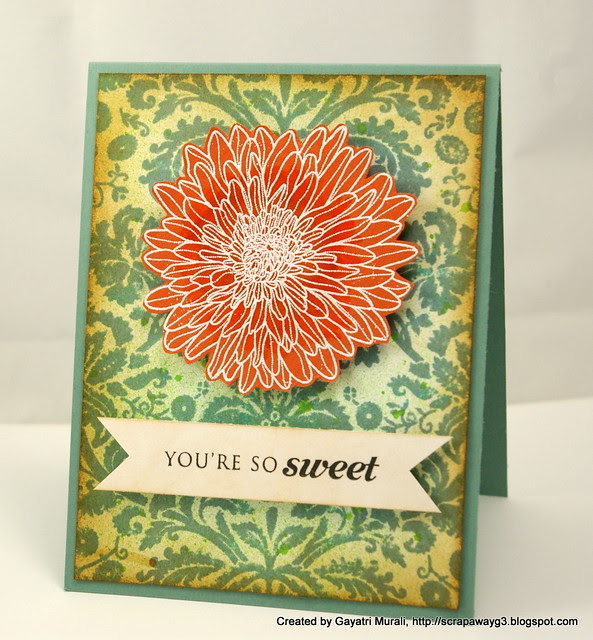 so sweet card