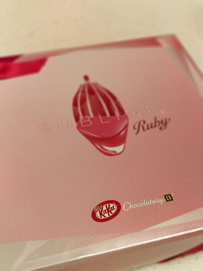 Kit Kat Chocolatory Sublime Ruby