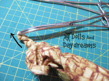 Hemostats turning dolls softies limbs  2 copy