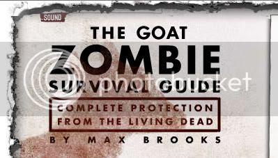 Friggin' zombie goats!