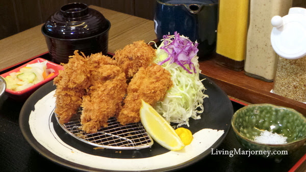 Deep Fried Oyster at Tonkatsu by Terazawa