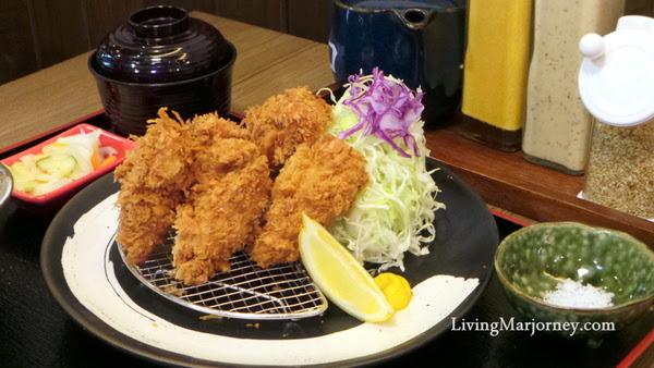 Deep Fried Oyster at Tonkatsu by Terazawa