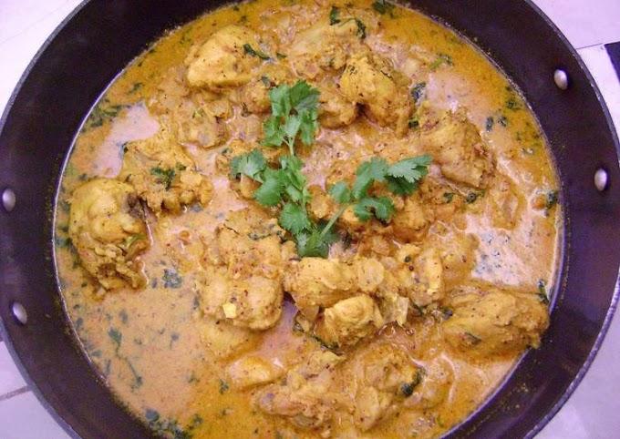 Steps to Prepare Award-winning Shahi Chicken Kasundi (Chicken in Creamy Mustard Gravy)