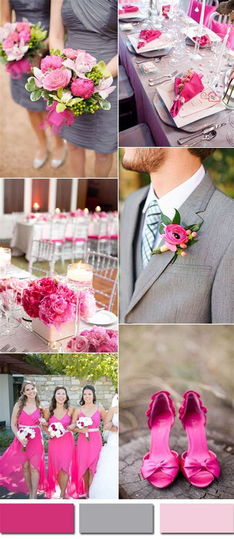 Wedding Colors Trends For 2017 Spring: Pink Yarrow Color
