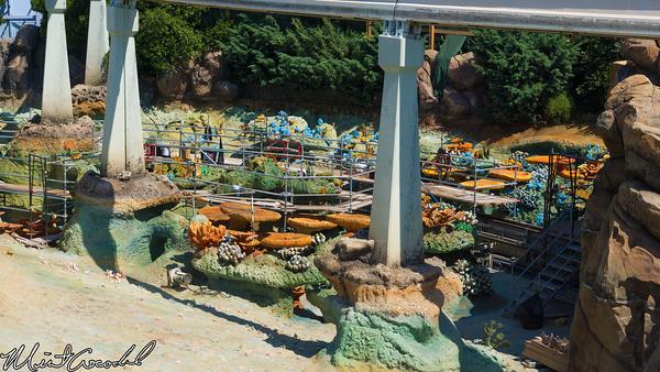 Disneyland Resort, Disneyland Resort, Disneyland, Finding Nemo Submarine Voyage, Refurbish, Refurbishment, Refurb