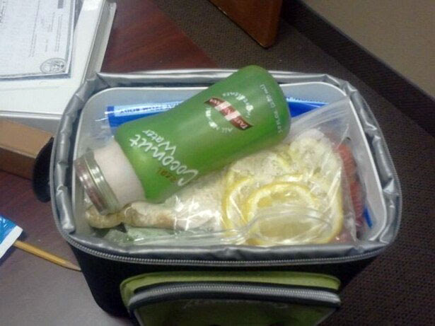 Chelle's clean eating cooler - figure competition diet.
