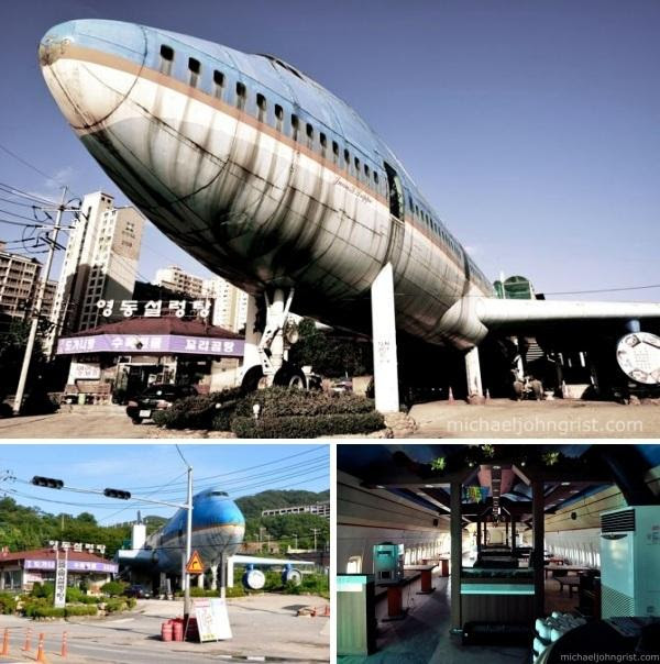 abandoned 747 restaurant korea 6 Abandoned Mega Machines