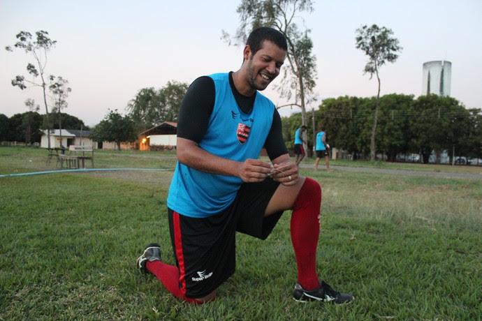 Raphael Freitas - Atacante Flamengo-PI (Foto: Renan Morais/GLOBOESPORTE.COM)