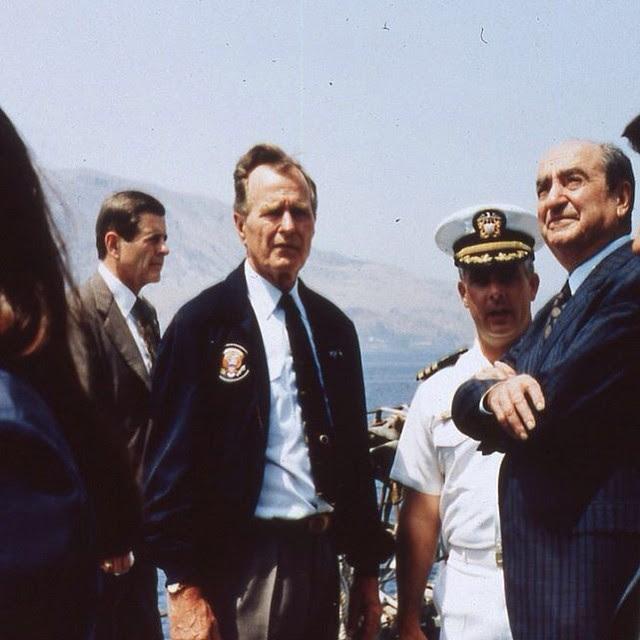 Αποτέλεσμα εικόνας για ΕΠΙΣΚΕΨΗ ΤΖ.ΜΠΟΥΣ ΣΤΗΝ ΕΛΛΑΔΑ ΤΟ 1992