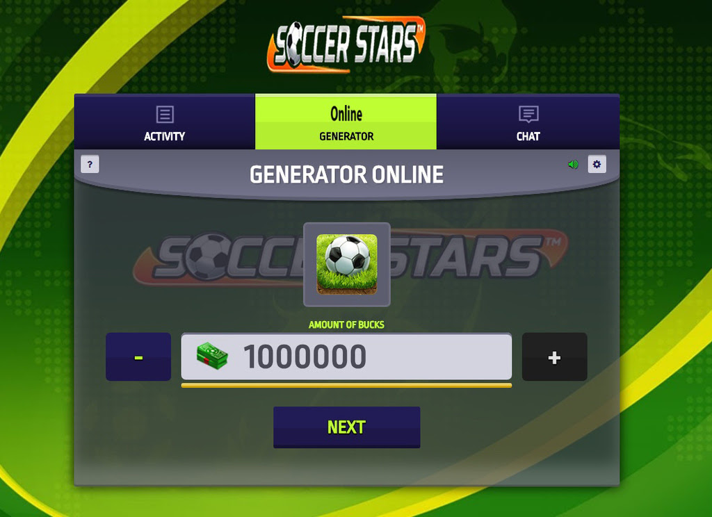 Soccer Stars Hack Mod Get Bucks And Coins - soccer stars hack online features get bucks get coins tested on android ios devices as well as iphone ipad ipod ipad mini