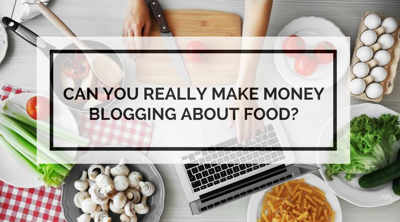 food blogging make money