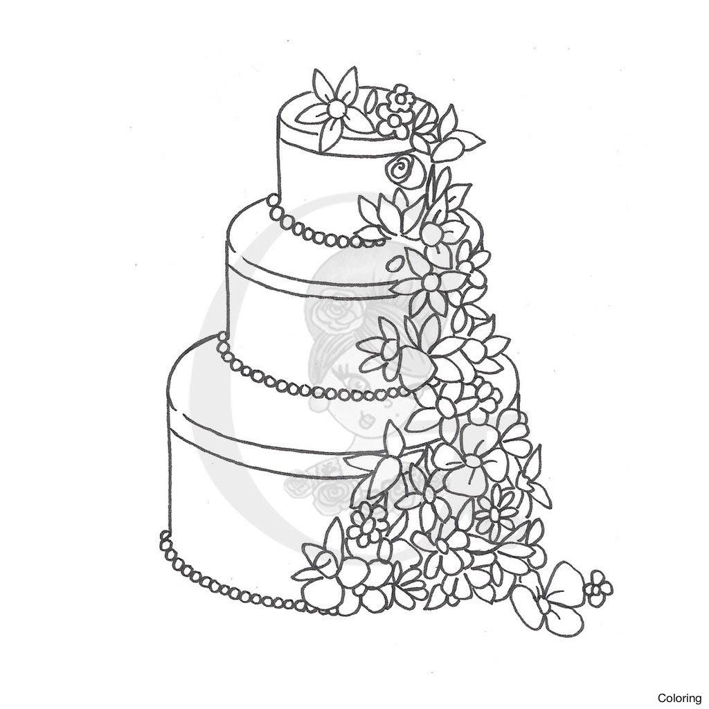 A Draw Cake Easy