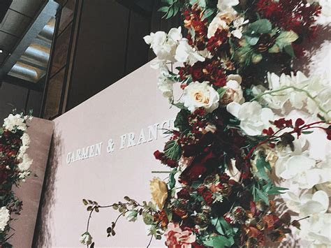 Beautiful Floral Backdrops   Hong Kong Wedding Blog