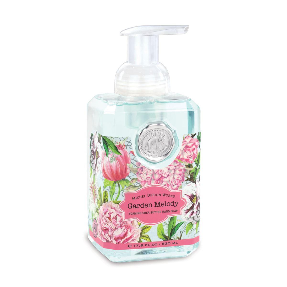 Foaming Hand Soap By Michel Design Works Garden Melody