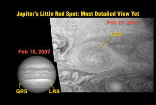 Nuevas imágenes de Júpiter