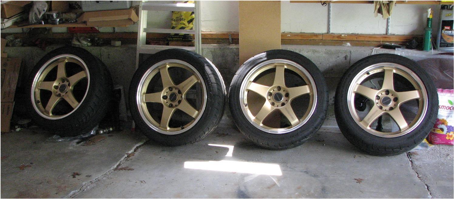 "FS: Mazdaspeed MS-01S 18"" rims + tires x 4 - RX8Club.com"