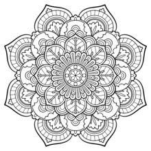 8200 Coloring Pages Mandalas Images & Pictures In HD