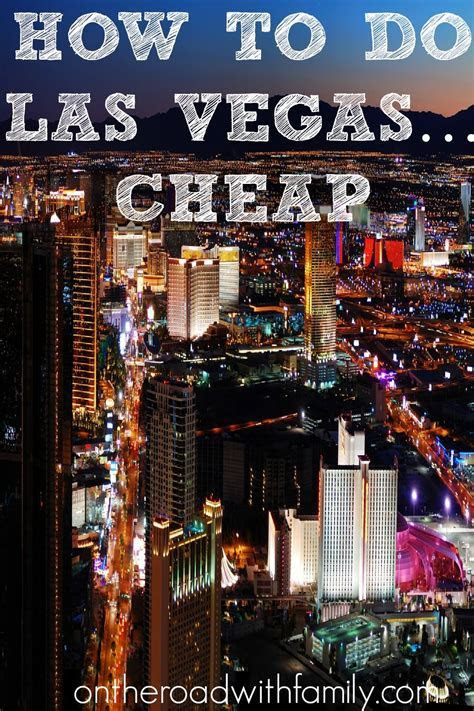 How to do Las Vegas on a budget or cheap   Travel