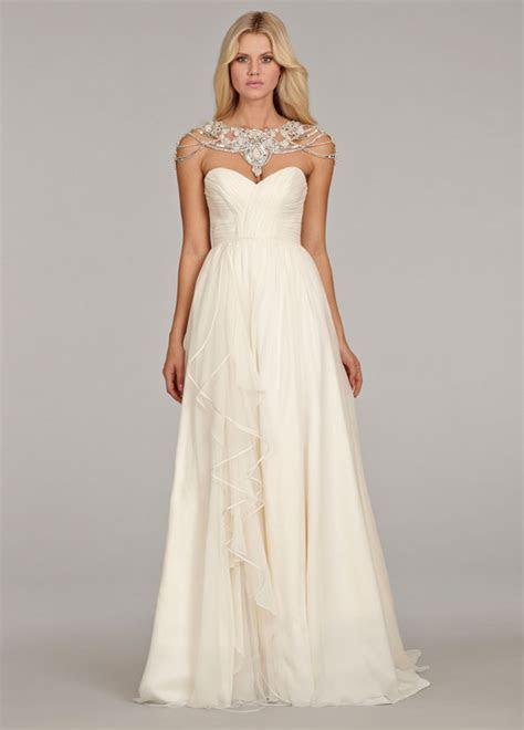 Hayley Paige Paloma HP6409 Size 4 Wedding Dress ? OnceWed.com