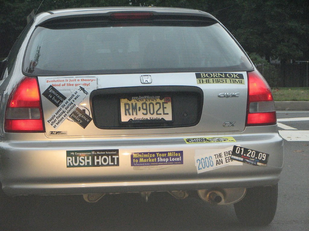 Lefty bumper stickers