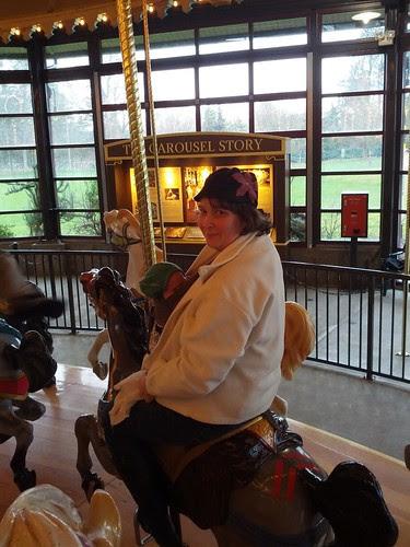 Davis' second carousel ride