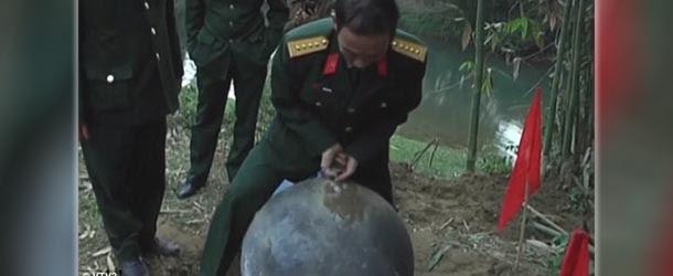 Vuelven a caer misteriosas esferas del cielo, ahora en Vietnam