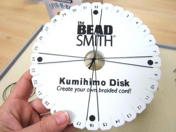 Kumihimo - Braiding with Beads