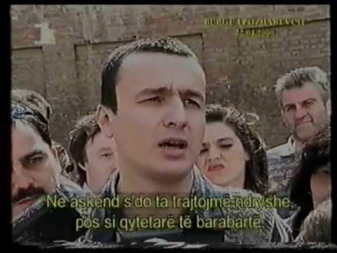 "Резултат слика за Albin Kurti ne burgun e Pozharevcit"""