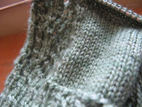 Anniversary Sock fabric