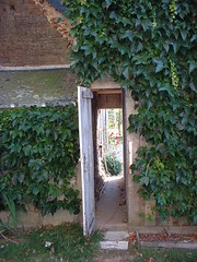 Passageway between the two houses