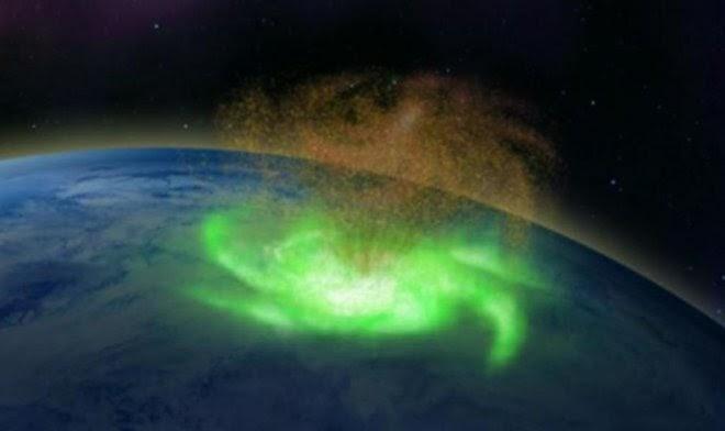 Над Землей впервые в истории засекли космический «плазменный ураган»