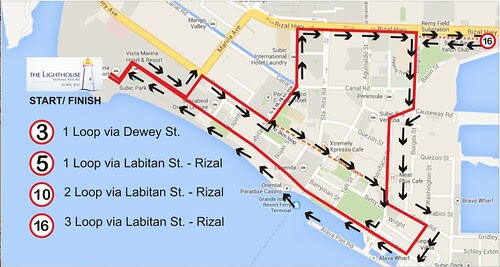 Victory Run Route