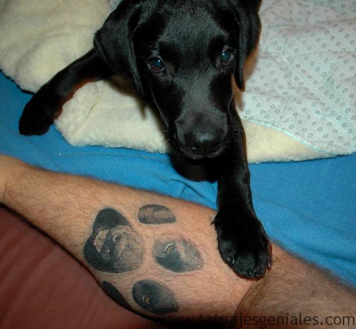 100 Tatuajes De Perros Para Amantes De Sus Mascotas