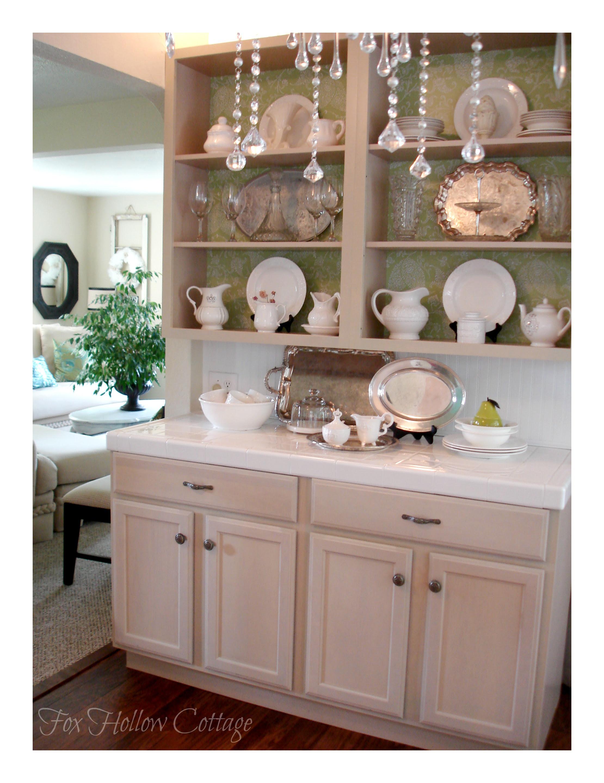 DIY Open Kitchen Cabinets
