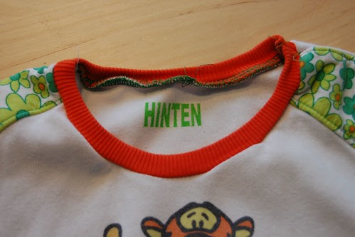 HINTEN
