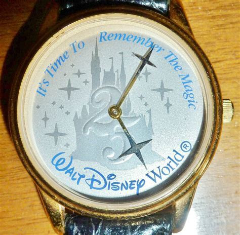Collectible 25th Anniversary Disney Watch Made for Eastman