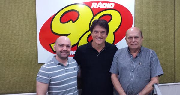 Robinson na 98 FM Natal