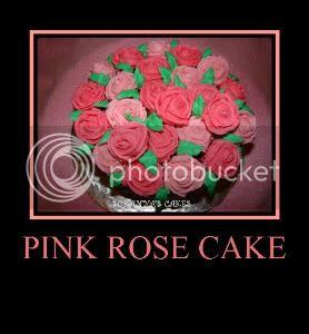 Rose Cake - Anniversary Cake