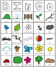 Nature Hunt Bingo   Nature Hunt, Outdoor Games For Kids and Fun ...