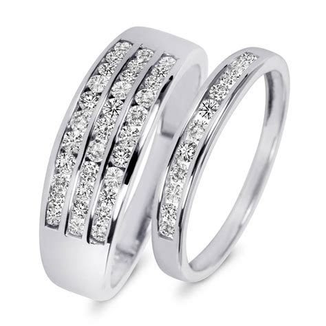 15 Inspirations of Cheap Wedding Bands Sets His And Hers