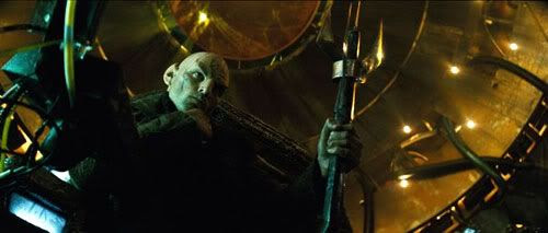 Eric Bana as Romulan bad guy, Captain Nero.