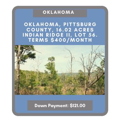 Oklahoma land for sale