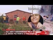 Mulher é brutalmente assassinada a pauladas pelo ex-genro em Bom Lugar