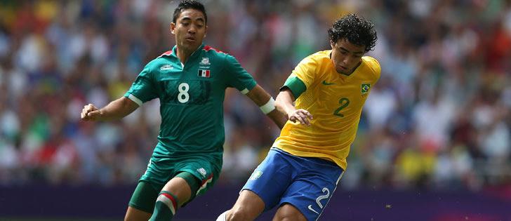 México derrota o Brasil e fica com o ouro no futebol