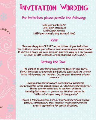 spanish birthday invitation verses invitation wording