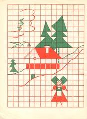n1 cahier dessin carreau p21
