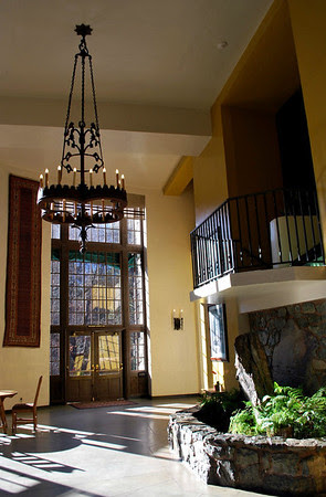 The Solarium at the Ahwahnee Hotel